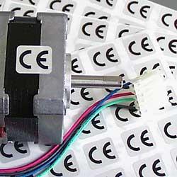 CE-Etiketten 13 x 11 mm
